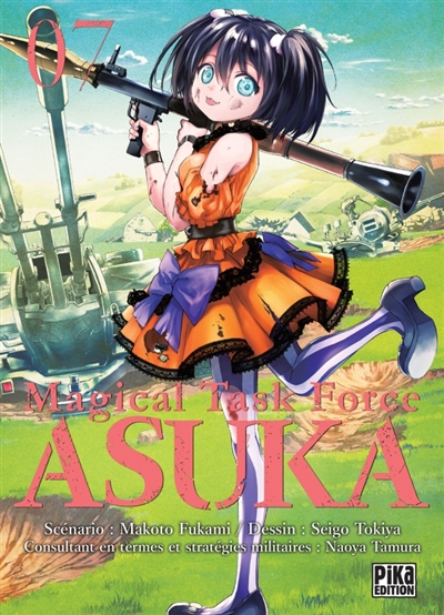 Magical task force Asuka T.07 | 9782811647513 | Manga adulte