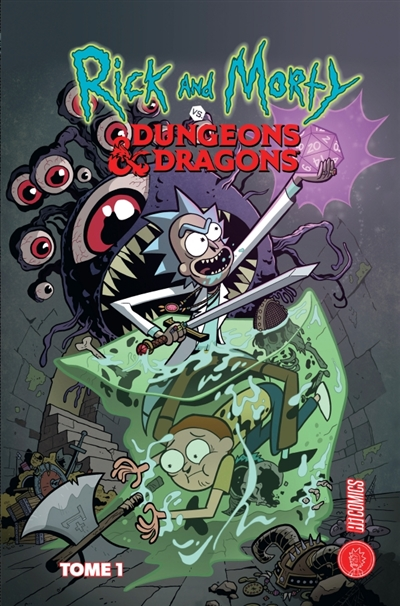 Rick and Morty T.01 - Rick and Morty vs dungeons & dragons | 9782378870300 | BD adulte