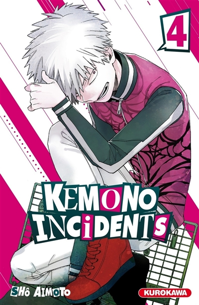 Kemono incidents T.04 | 9782368527511 | Manga adulte