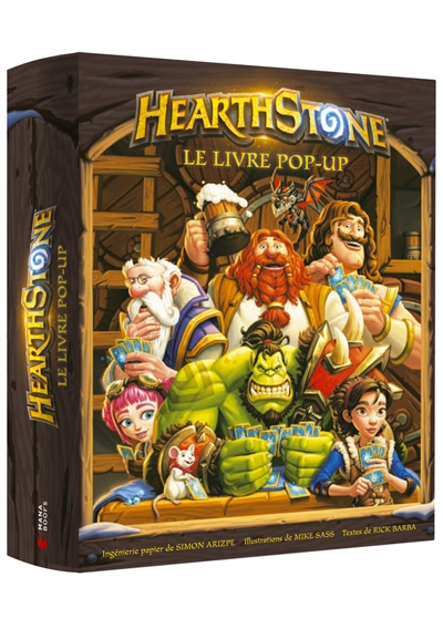 Hearthstone : le livre pop-up | 9791035500825 | Arts
