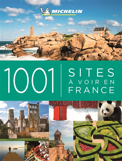 1001 sites à voir en France | 9782067243521 | Pays