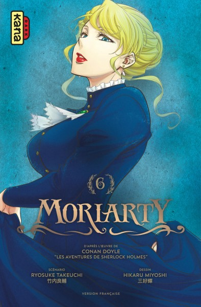 Moriarty T.06 | 9782505076414 | Manga adulte