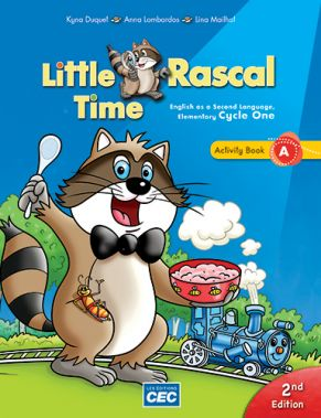 Little Rascal - Activity Book A, 2nd Ed. Grade 1 - Print version + student access | 9782761796132 | Cahier d'apprentissage - 1ère année