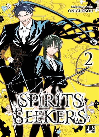 Spirits seekers T.02 | 9782811631260 | Manga adulte