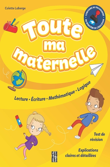 Toute ma maternelle | 9782897429409 | Cahier d'exercices