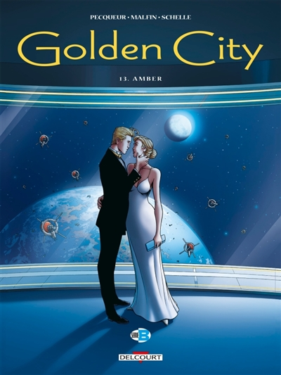 Golden city T.13 - Amber | 9782413018742 | BD adulte