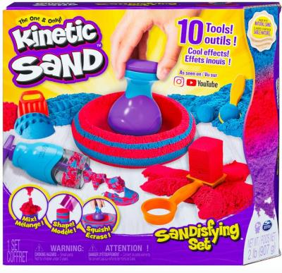 Kinetic Sand - ensemble Sandisfying | Pâte à modeler
