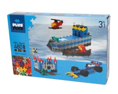 PlusPlus ++ - Mini basic 3 en 1 (480 pcs) | Construction