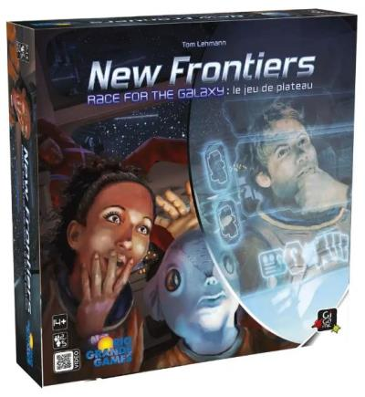 New Frontiers - Race for the galaxy : Le jeu du plateau | Jeux de stratégie