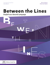 Between the Lines - 5e secondaire | 9782765534303 | Cahier d'apprentissage - Secondaire 5