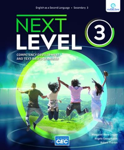 Next Level - Secondary 3 - Workbook (with Interactive Activities) | 9782766200313 | Cahier d'apprentissage - Secondaire 3