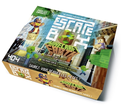 Escape box Minecraft Earth | Enfants 9-12 ans