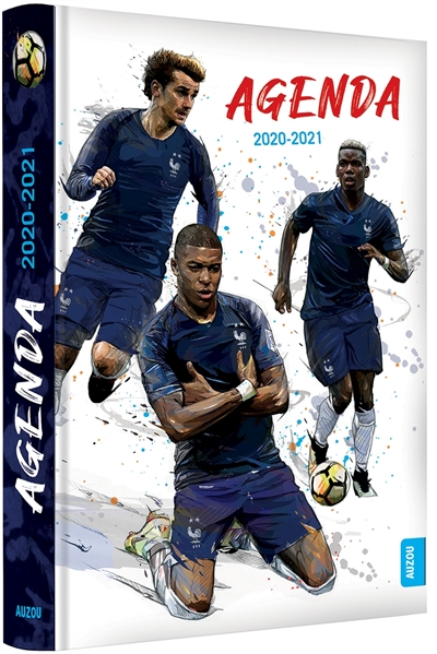 Agenda football France 2020-2021 | 9782733880463 | Agenda et Calendrier et journaux intime