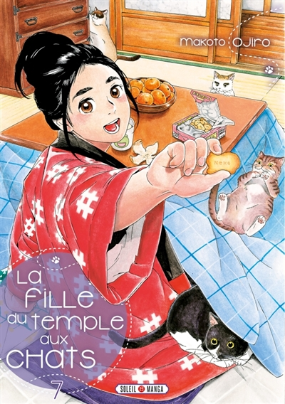 La fille du temple aux chats T.07 | 9782302081819 | Manga adulte