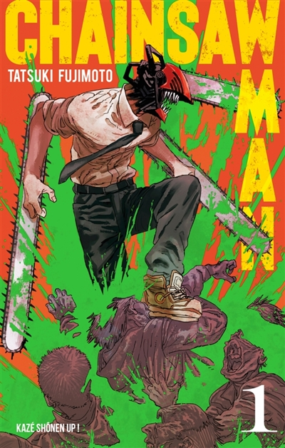 Chainsaw Man T.01 | 9782820337825 | Manga adulte