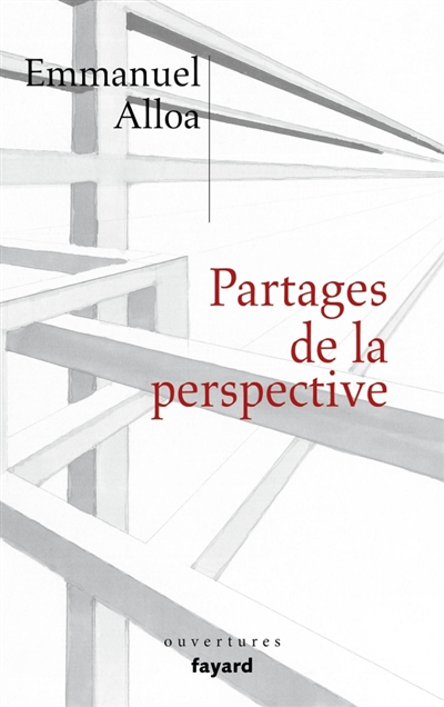 Partages de la perspective | 9782213716633 | Arts