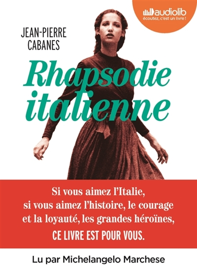 Rhapsodie italienne - AUDIO | 9791035402198 | Livres-audio