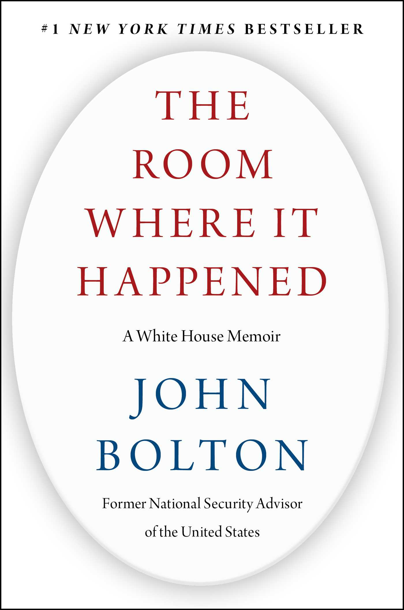The Room Where It Happened : A White House Memoir | History & Society