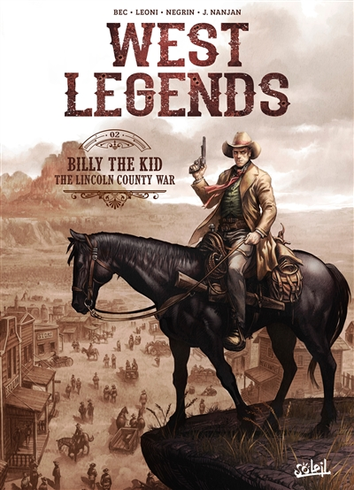 West legends T.02 - Billy the Kid  | 9782302081680 | BD adulte