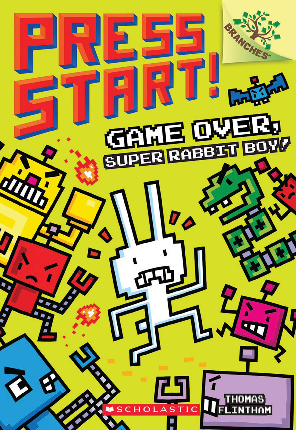 Press Start! T.01 - Game Over, Super Rabbit Boy!  | 6-8 years old