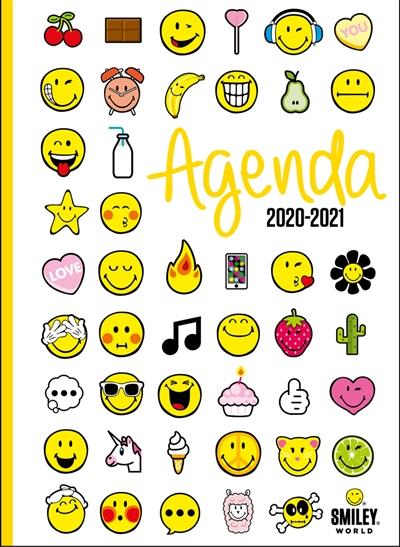 Smiley émoticônes agenda 2020 2021 | 9782821212022 | Agenda et