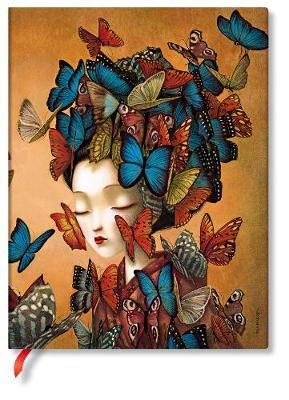 Cahier Madame Butterfly flexi | Papeterie fine