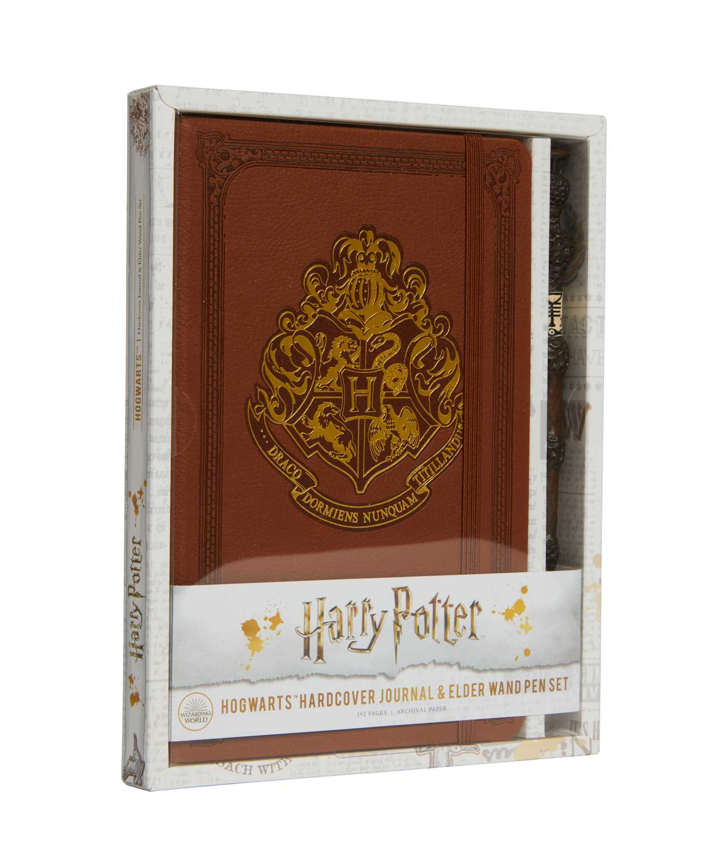 Harry Potter: Hogwarts Hardcover Journal and Elder Wand Pen Set | Papeterie fine