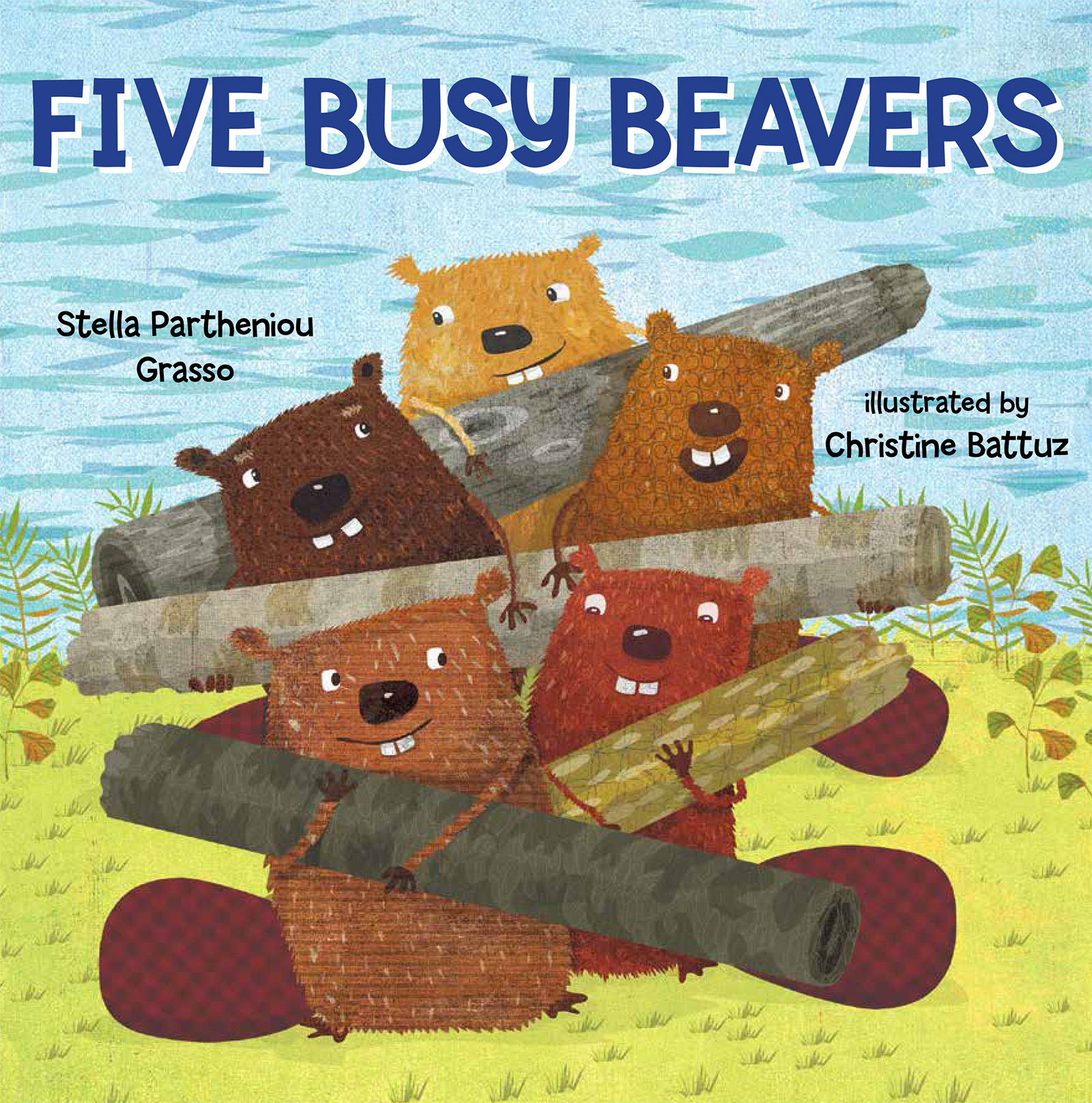 Five Busy Beavers | Picture books