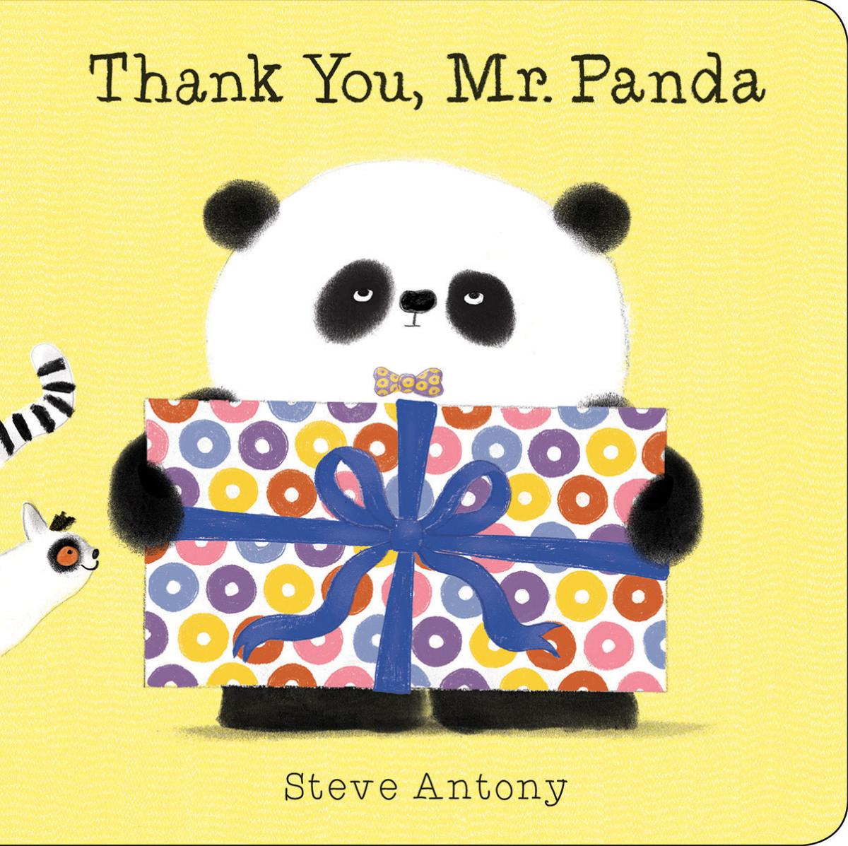 Thank You, Mr. Panda: A Board Book | Picture books