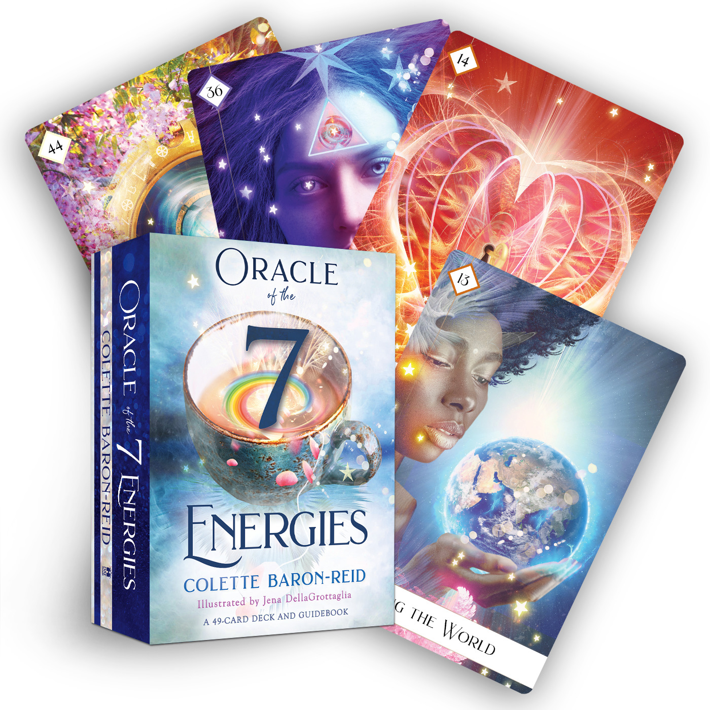 Oracle of the 7 Energies : A 49-Card Deck and Guidebook | Faith & Spirituality