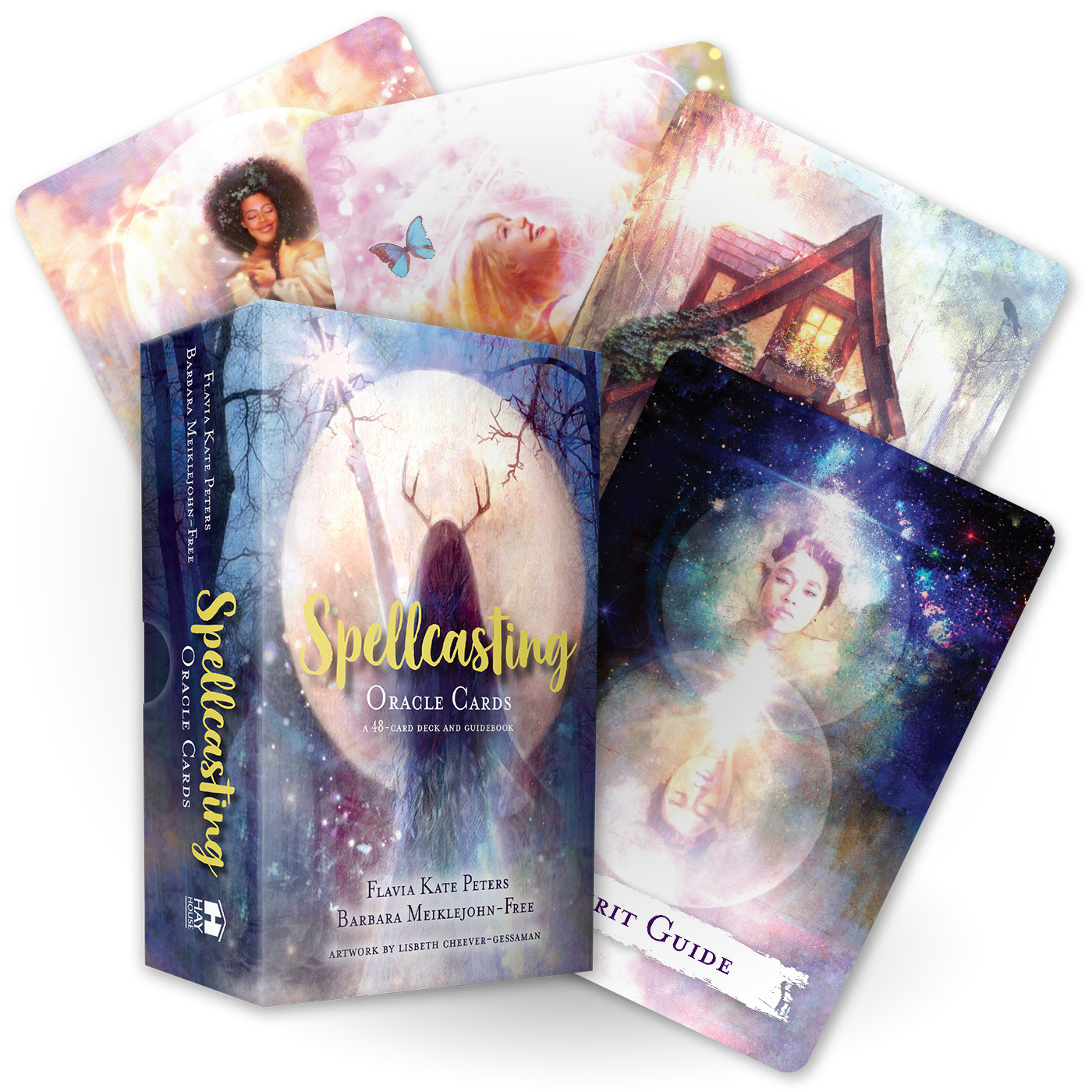 Spellcasting Oracle Cards : A 48-Card Deck and Guidebook | Faith & Spirituality