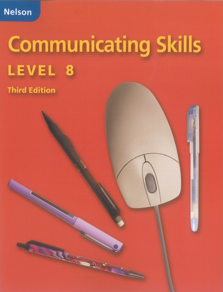 Communicating Skills - Student Workbook, Level 8 | Activity book