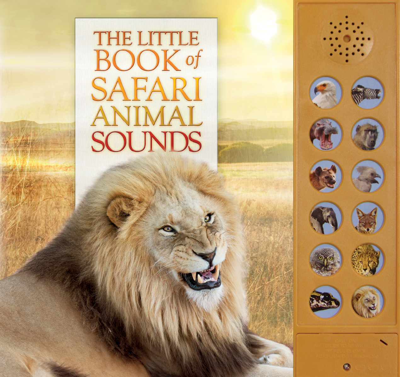 Little Book of Safari Animal Sounds (The) | Documentary
