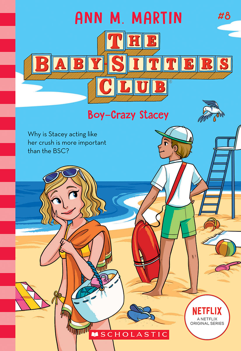 The Baby-sitters Club T.08 - Boy-Crazy Stacey  | 9-12 years old