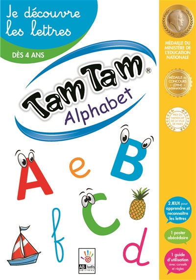 Tam tam alphabet | Conscience phonologique