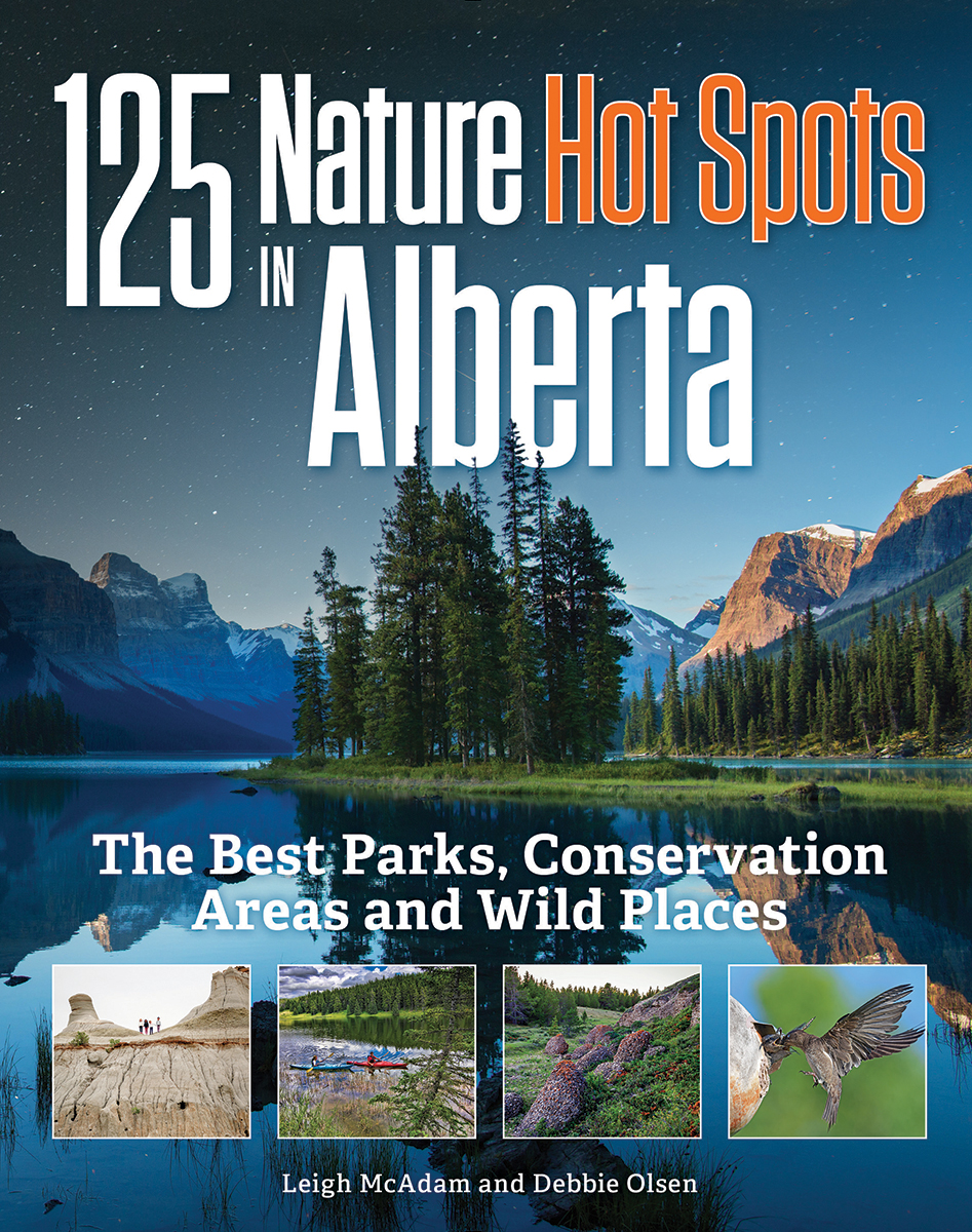 125 Nature Hot Spots in Alberta : The Best Parks, Conservation Areas and Wild Places | Dictionary & Encyclopedia