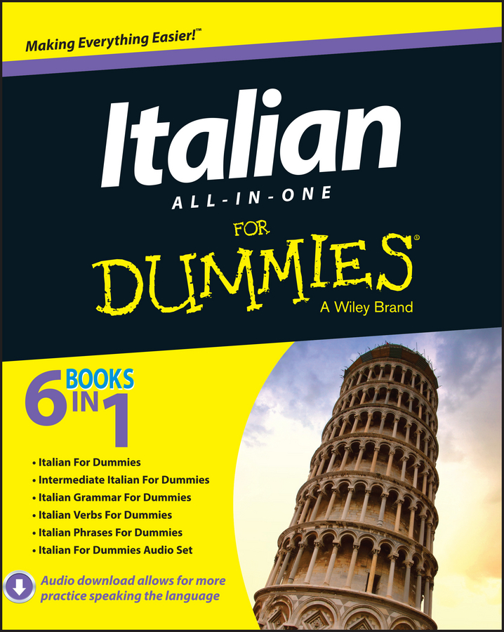 Italian All-in-One For Dummies | Dictionary & Encyclopedia