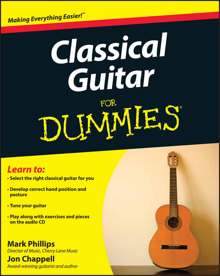 Classical Guitar For Dummies | Fine Arts