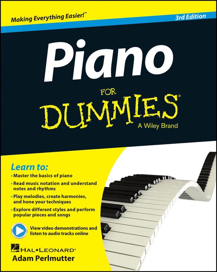 Piano For Dummies, Book + Online Video & Audio Instruction | Fine Arts