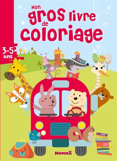 Mon Gros Livre De Coloriage 3 5 Ans 9782508047688 Livres Jeux Et Cahier D Activites Librairie Martin