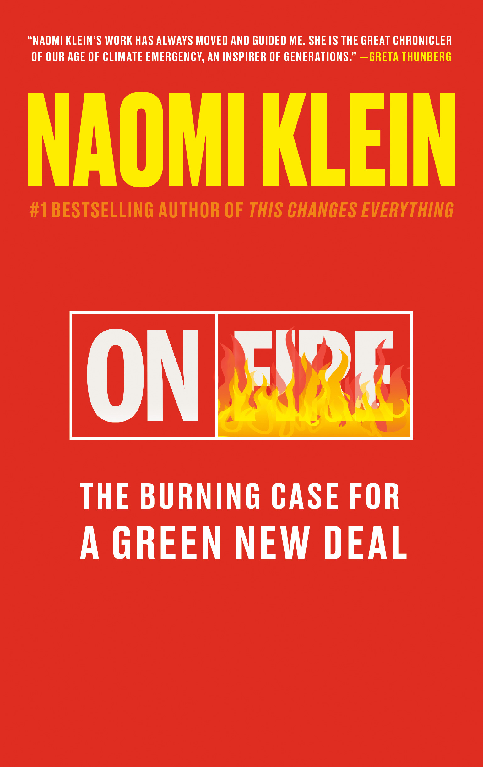 On Fire : The Burning Case for a Green New Deal | Science