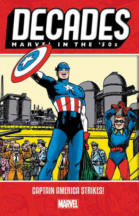 Decades: Marvel in the 50s - Captain America Strikes! | Graphic novel & Manga
