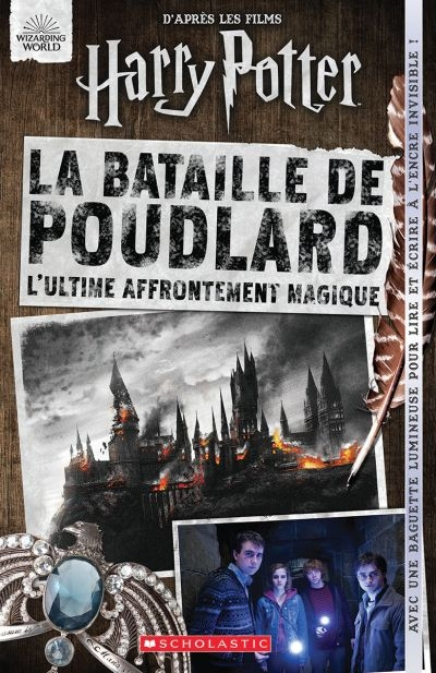 Harry Potter La bataille de Poudlard  | 9781443185370 | Arts