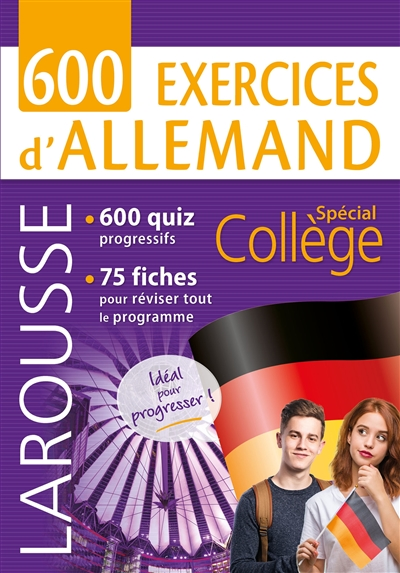 600 exercices d'allemand | 9782035973092 | Dictionnaires