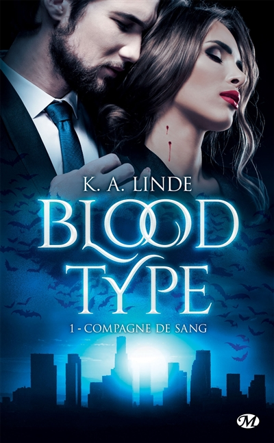 Blood type T.01 - Compagne de sang | 9782811221119 | Science-Fiction et fantaisie