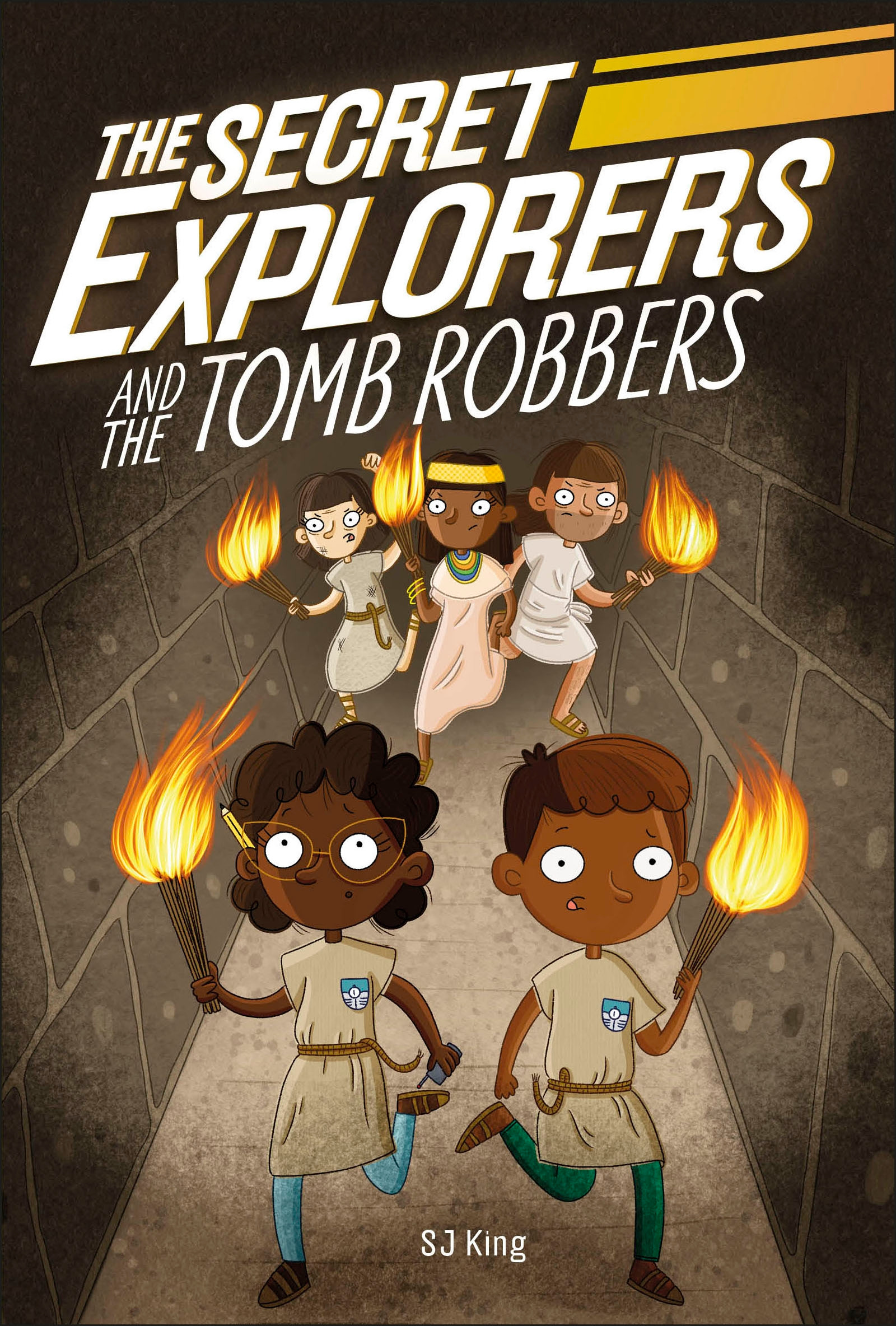 The Secret Explorers - The Secret Explorers and the Tomb Robbers | 6-8 years old