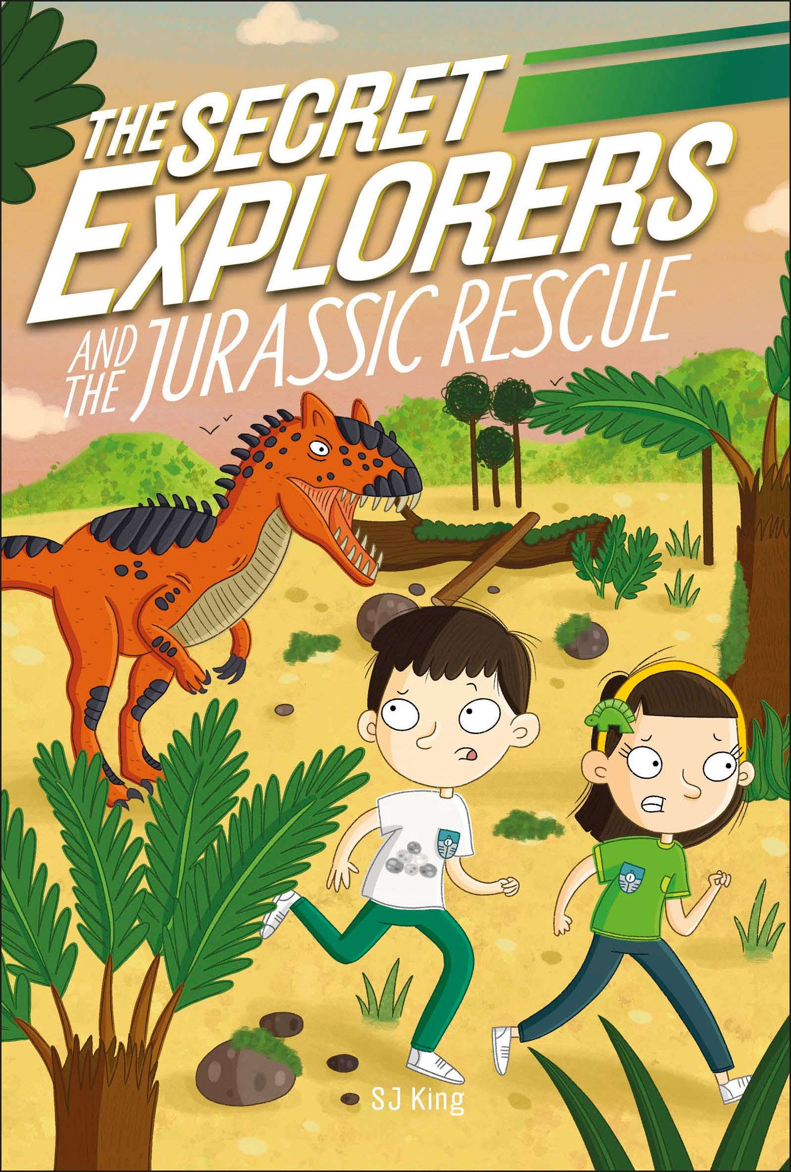The Secret Explorers - The Secret Explorers and the Jurassic Rescue | 6-8 years old