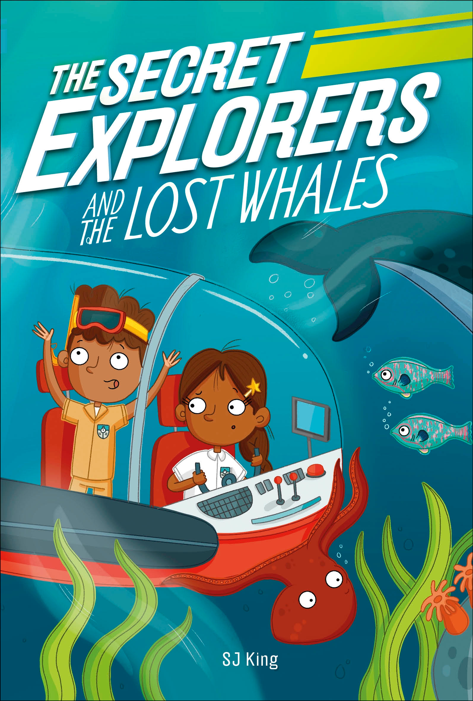 The Secret Explorers - The Secret Explorers and the Lost Whales | 6-8 years old