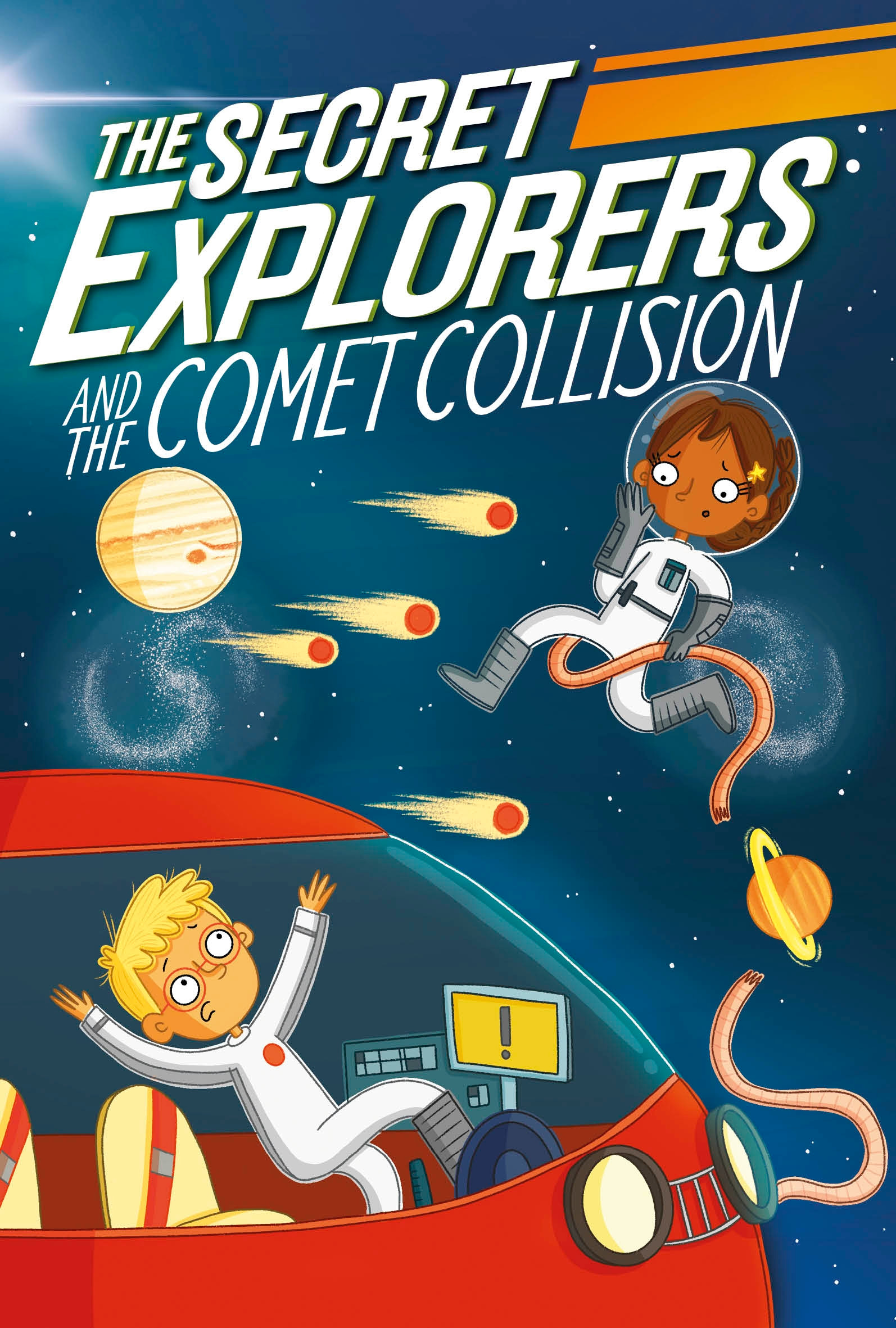The Secret Explorers - The Secret Explorers and the Comet Collision | 6-8 years old