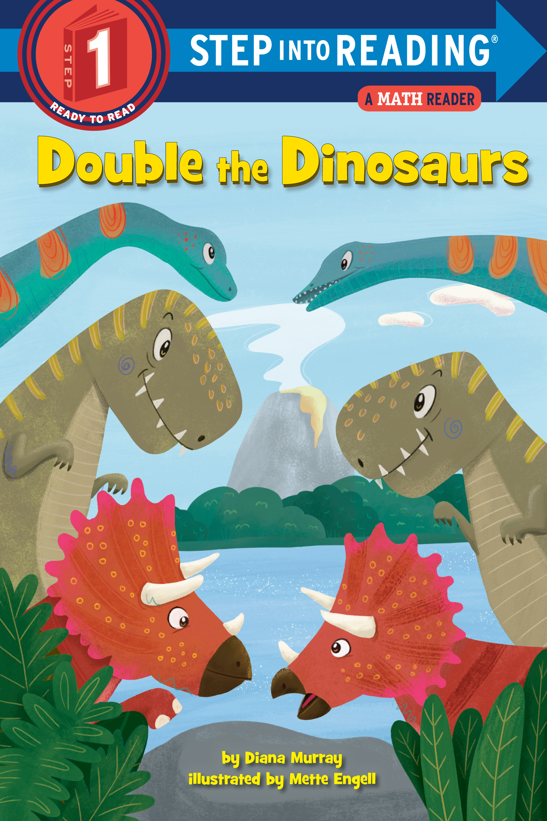 Double the Dinosaurs: A Math Reader | First reader
